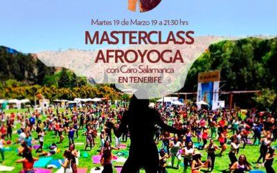 Masterclass Afroyoga